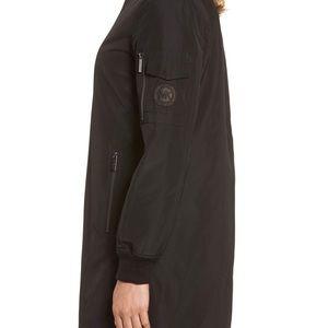 Michael Kors Long bomber jacket XS khaki